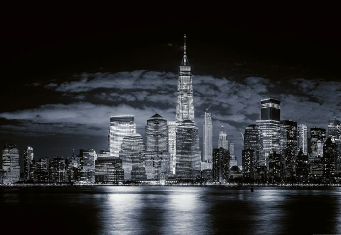 Photo wallpapers Skyline Of Manhattan | Shop online